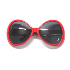Red Retro Party Lounge Glasses