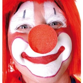 Red Foam Clown Nose ( Pack of 2 )
