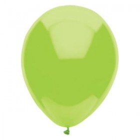 Premium Kiwi Green  Metallic Latex Balloons (Pack Of 10)  - 12""