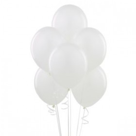 Snow White Latex Balloons (Pack Of 50) - 12""