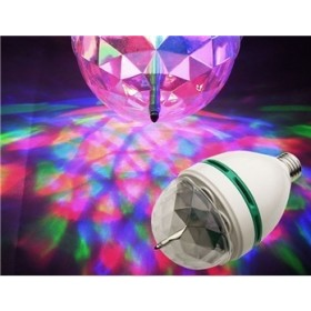 Party & Festive Led Multi Colored Rotating Light
