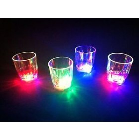 LED Shot Glasses (Pack Of 6)