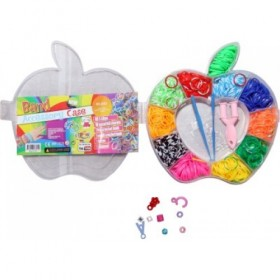 Assorted Apple Box Loom Bands Kit