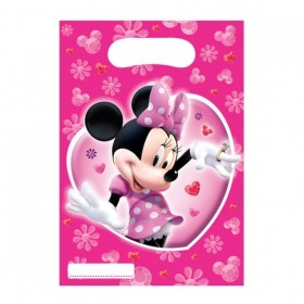 Minnie Mouse Loot Bags (Pack Of 6)
