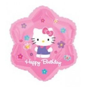 Hello Kitty Happy Birthday Foil Balloon - 18""