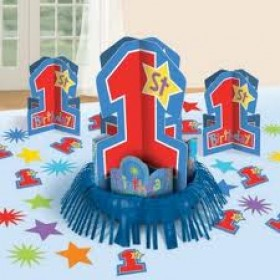 One-Derful Birthday Boy Table Decorative Kit