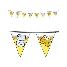 Beer Party Flag Banner