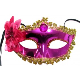 Venetian Crown Party Mask (Pink)