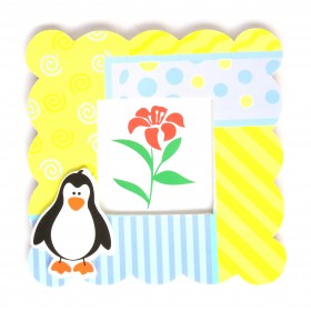 Penguin Kids Photo Frame
