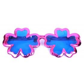 Giant Hibiscus Flower Sunglasses - Pink