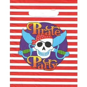 Pirate Party Loot Bags - Pack of 10