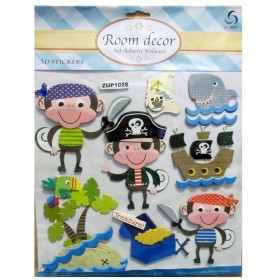 Pirates Theme Wall Decor