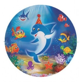 Underwater Paper Plates - Pack Of 10