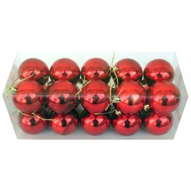20 Piece Christmas Tree Trimming Kit - Red