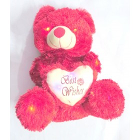 Led Red Teddy Bear