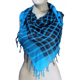 Shimmer Blue Colour Arafat Scarf