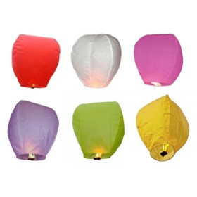 Sky Lanterns (Set Of 25)