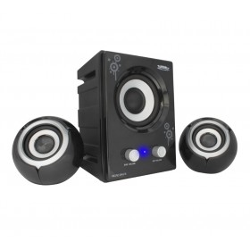 Zebronics Computer Multimedia 2.1 Speaker (Micro Drum)