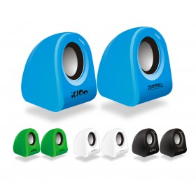 Zebronics 2.0 Computer Multimedia Speaker (Igloo)