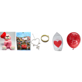 Love Crazy Ultimate Party Kit - Surprise Items