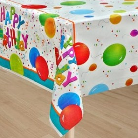Happy Birthday Jamboree Party Table Cover
