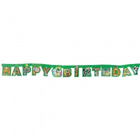Jungle Party Paper Banner