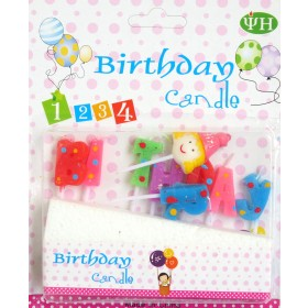Birthday Toothpick Candle-Girl