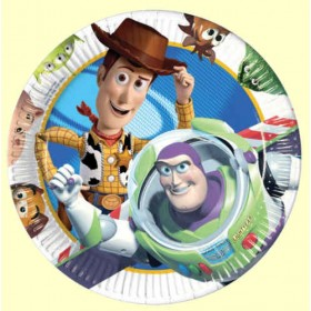 Toy Story Party Plates (Pack Of 8)