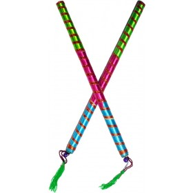 Traditional Dandiya Sticks