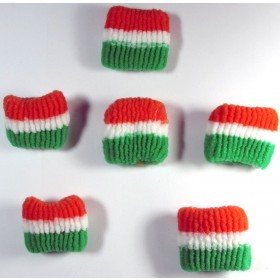 Tricolor Hairband (Pack Of 6)