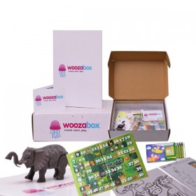 Jungle Safari Activity Box