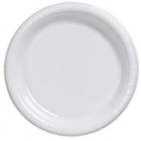 Disposable Paper Plates - Premium Pulp White (Pack Of 10)