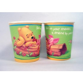 Winnie the Pooh Paper Cups -Pack of 8