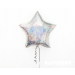 Silver Star Foil Balloon - 7""
